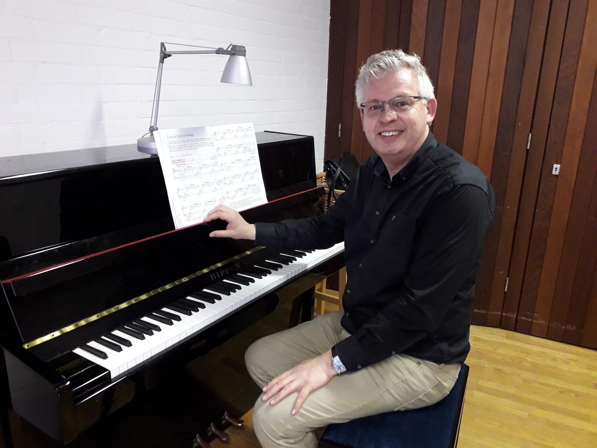 piano-, keyboard- en orgelles