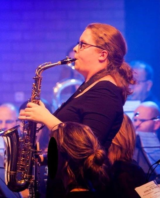 saxofoonles Ilse Hallema