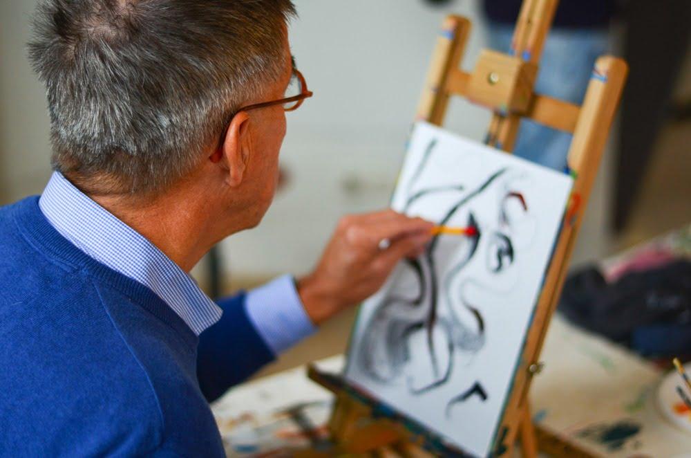 tekenen en schilderen senioren