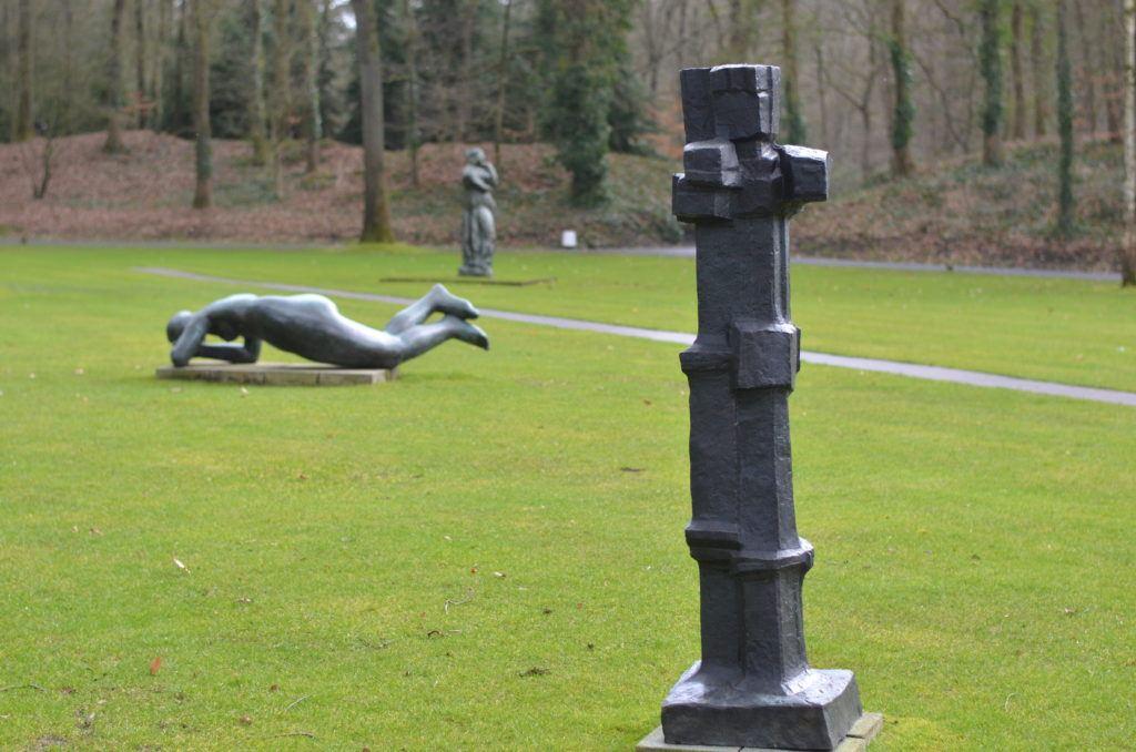 Het veld van sculpturen